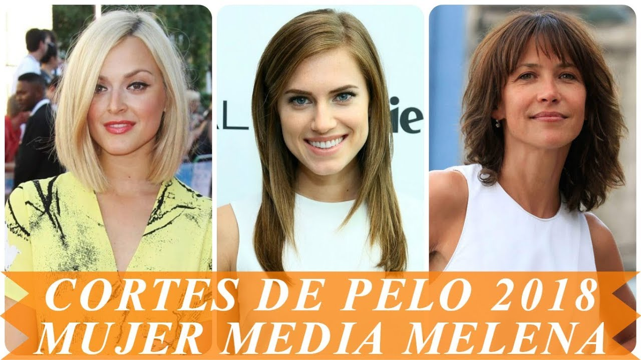 Peinados de celebridades media melena 2018 youtube - Peinados de fiesta media melena ...