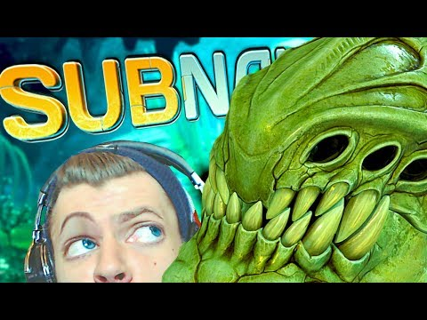 THE SEARCH FOR NICKEL | Subnautica (Part 11) | Blind, Reaction, Survival