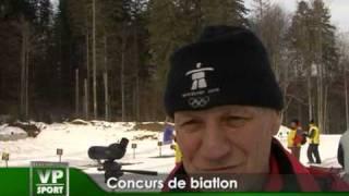 concurs de biatlon