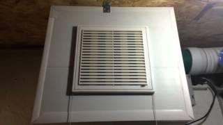 видео Принудительная вентиляция в гараже своими руками