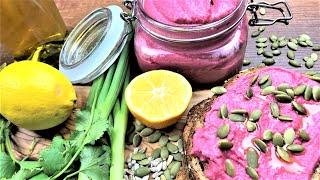Домашний хумус рецепт из свеклы и консервированного нута (короткие рецепты)