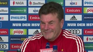 """HSV-Trainer Dieter Hecking: """"Die Mannschaft muss sich weiterentwickeln"""""""