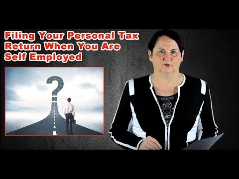 Filing A Self-Employed Personal Tax Return In Canada (2018)