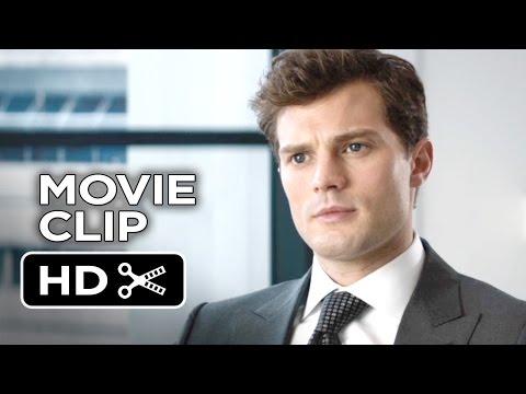 Fifty Shades of Grey Movie CLIP - The Interview (2015) - Dakota Johnson, Jamie Dornan Movie HD
