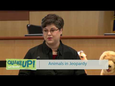 Quake Up! Animals in Jeopardy