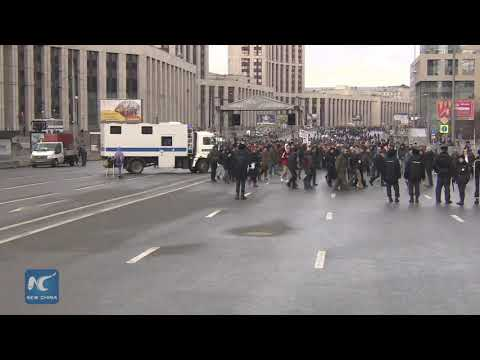 Thousands of Russians rally for internet freedom