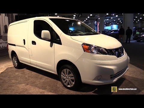 2017 Nissan NV 200 Commercial Vehicle - Exterior and Interior Walkaround - 2017 NY Auto Show