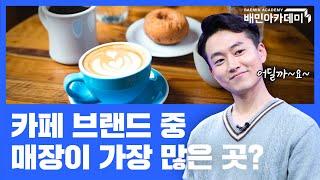 국내 커피전문점, 카페 시장의 현황과 특징 분석!