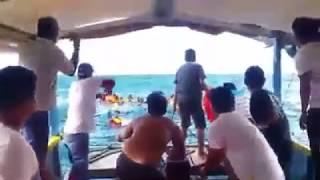 Caught On Video Ang Paglubog Ng Isang Passenger Boat Sa Infanta, Quezon Province