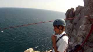 Стрибки в Сімеїзі, скеля Діва (АР Крим - серпень/вересень 2013)