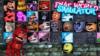 REDBEAR JOINED OUR TEAM!! | FNAF World Simulator