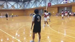H29 ハンドボール秋季二部リーグ 明星大vs 関東学院(4/5)