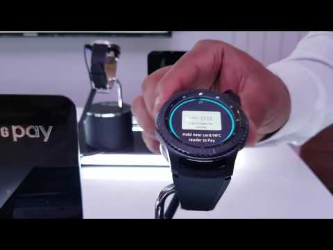 Samsung Pay Demo With Samsung Gear S3