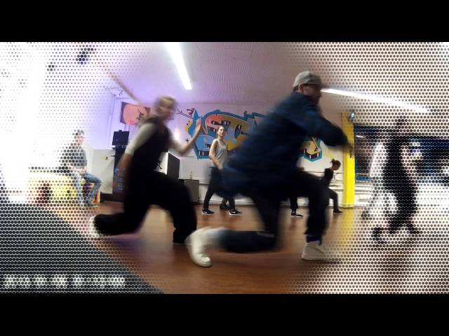 Streetdance routine 2 for beginners