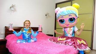 Полина и необычные игрушки