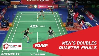Download Video QF | MD | GIDEON/SUKAMULJO (INA) [1] vs HOKI/KOBAYASHI (JPN) | BWF 2018 MP3 3GP MP4