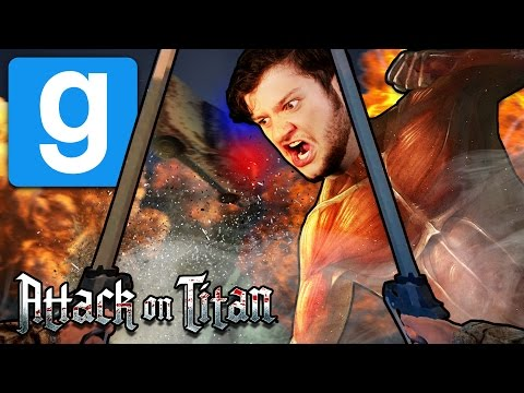 Thumbnail: Gmod ATTACK ON TITAN! (Gmod Funny Moments)