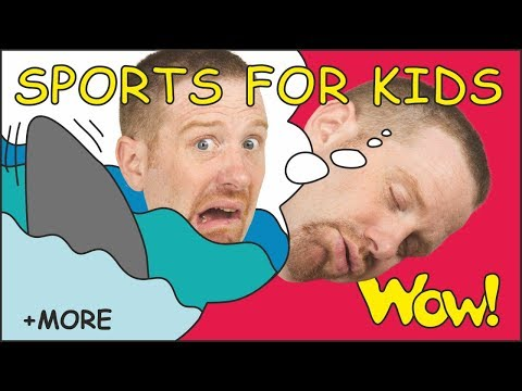 Sports for Kids | Magic Stories from Steve and Maggie | Wow English TV