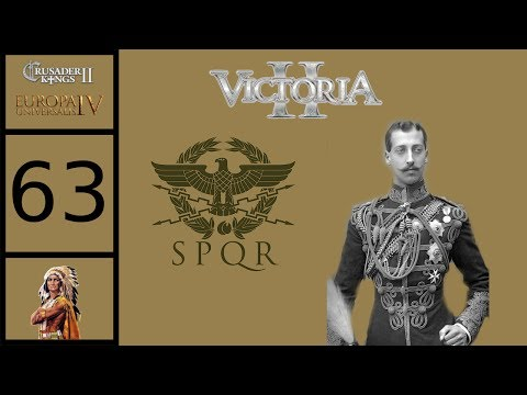 Victoria 2 - Byzantium Grand Campaign #63 - Basileus Louis Manuel - Battleground Germany
