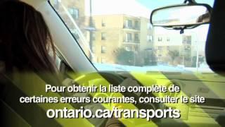 Obtention d'un permis de conduire de l'Ontario -- Obtention d'un permis G2