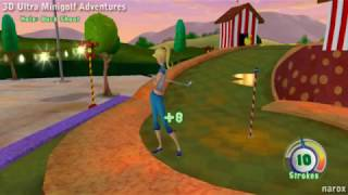3D Ultra Minigolf Adventures / gameplay / PC