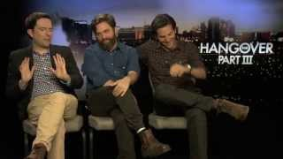 Bradley Cooper, Zach Galifianakis And Ed Helms Interview -- The Hangover Part III   Empire Magazine