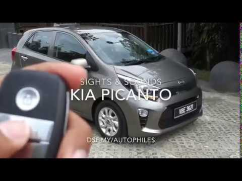 CAR ASMR | 2018 Kia Picanto | Sights & Sounds