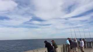 Two Jets Fly Over The Pier!