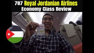 Gambar cover 787 Royal Jordanian Airline Economy Class Review from JFK To AMM