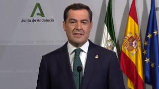 Andalucía decreta cierre perimetral hasta el 9 de noviembre