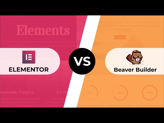 Elementor 2.0 vs Beaver Builder: FREE Page Builders Compared