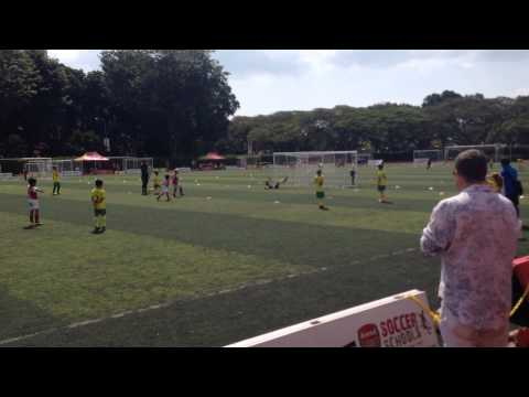 JSSL League Singapore - Free Kick Charles Pendleton-Nash
