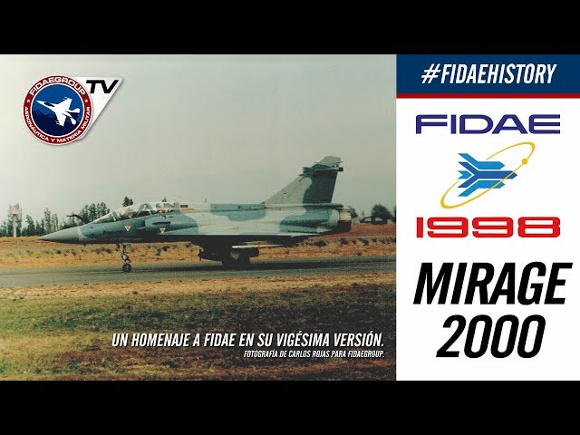 Tres Dassault Mirage 2000 5-NG en FIDAE 1998, Proyecto F2000 FACH, Incredible demostration