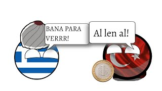 Almanya Yunanistan'a Desteği Kesseydi?-CB Animasyonu