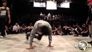 Flex & Leon vs Issei & Kazuki Roc // .BBoy World // BREAKING 2on2 SEMI-FINAL | LCB BATTLE 2014