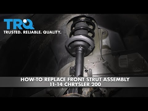 How to Replace Front Strut Assembly 11-14 Chrysler 200