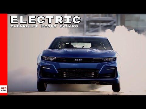 Electric Chevrolet eCOPO Camaro Concept