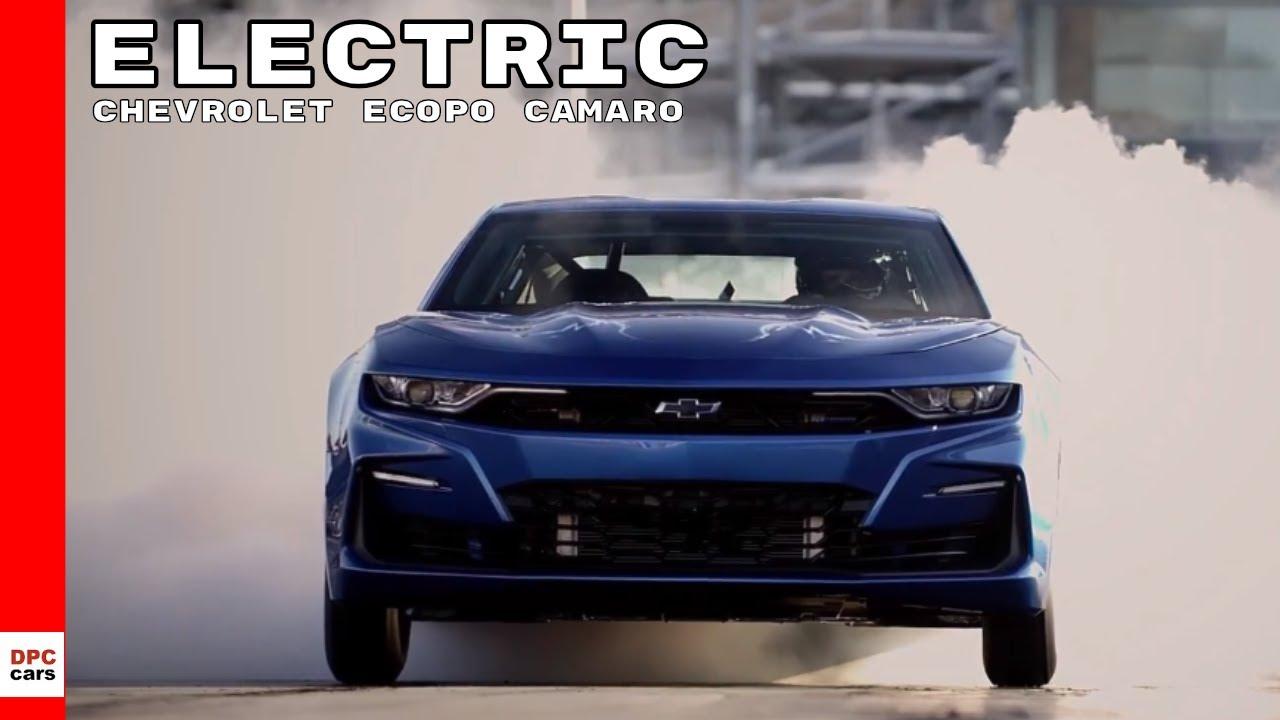 Electric Chevrolet eCOPO Camaro Concept - YouTube