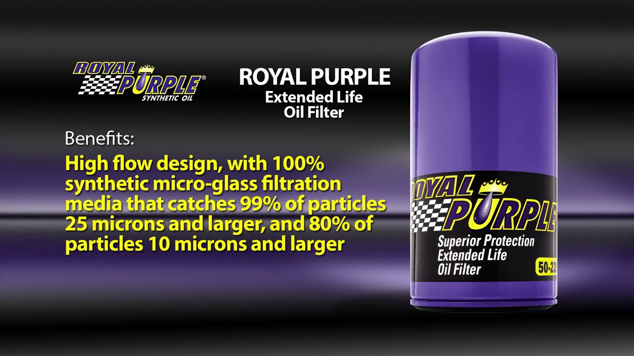 Royal Purple Extended Life Oil Filters   JEGS