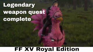 Final Fantasy XV - Royal Edition live with Princess Farron