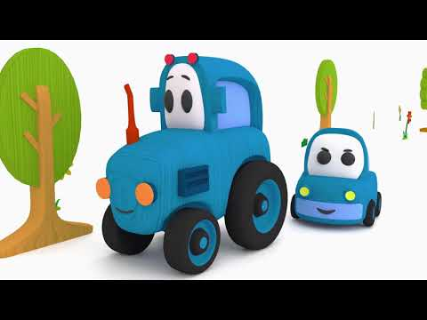 Деревянные машинки КАПОТИКИ – Знакомство - развивающие мультики для детей