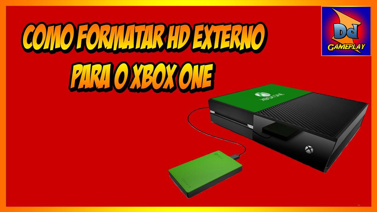 Como formatar hd externo para o xbox one youtube for Ssd esterno xbox one