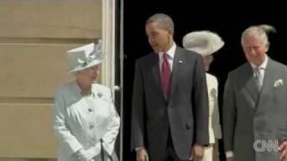Obama visits Buckingham Palace