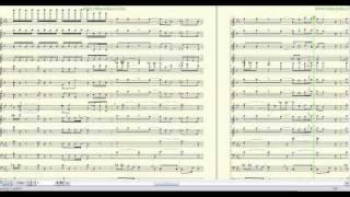 """RIMSHOT"" ERYKAH BADU ""LIVE""-ARRANGED BY: BRANDON G. MITCHELL FOR MARCHING/CONCERT BAND"