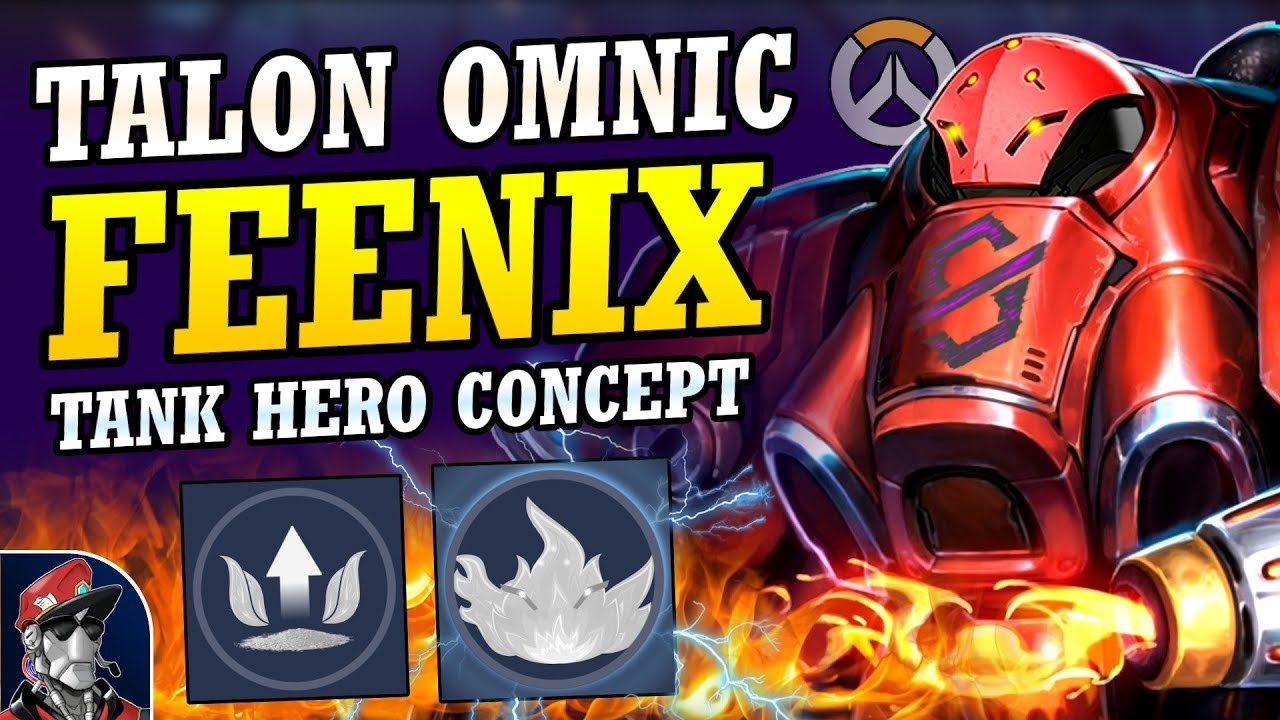 Download Overwatch - New OMNIC FIRE HERO Tank Concept!  Talon Tank New Hero Abilities, Ultimate, & MORE!