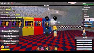 Five night at freddy's roblox