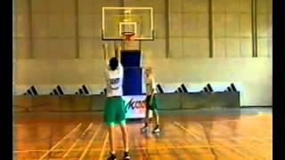 Уроки баскетбола. Дальний бросок