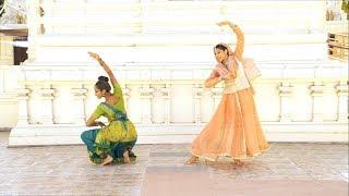 Kathak Vs. Kuchpudi Duet | Richa Shukla and Shalini Bathina