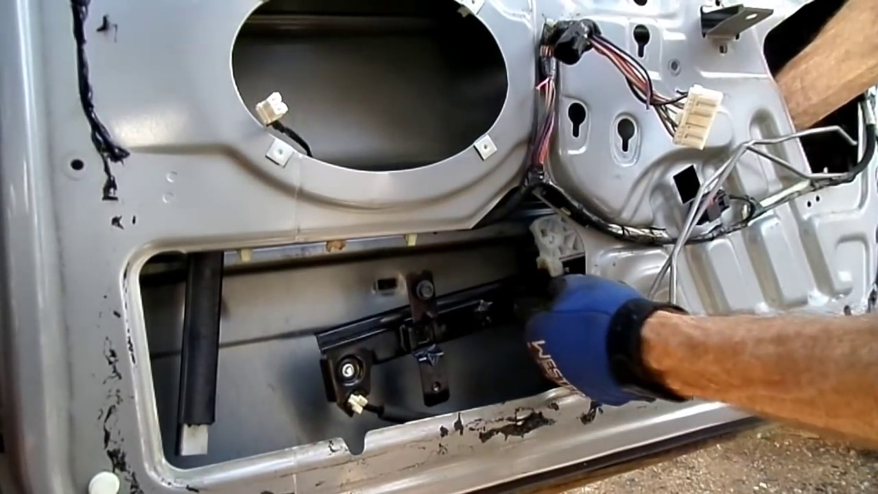 grand cherokee window motor regulator removal [ 1280 x 720 Pixel ]