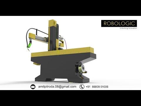 4 axis Welding Robot in india | Robologic |+91 8980901006 | Welding Robot